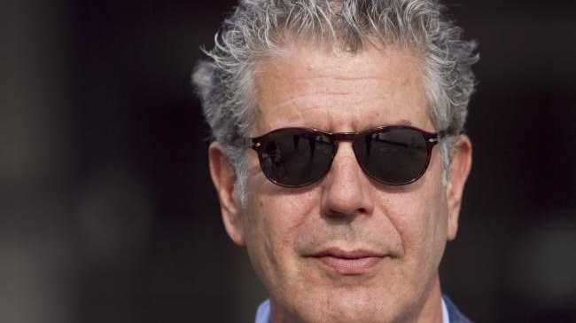 Bourdain met Argento in 2016 while filming the season eight Rome episode of his travel and food show. Picture: News Limited