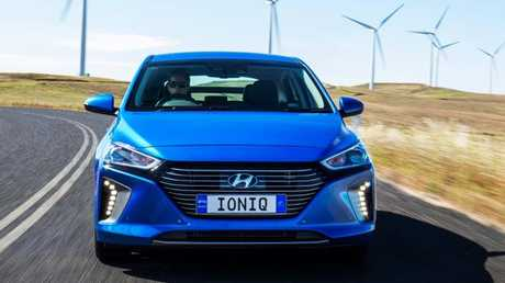 Make the switch: Ioniq Hybrid eases from petrol power to electric