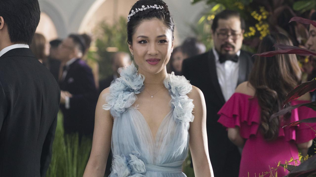 Constance Wu stars as Rachel Chu (Sanja Bucko/Warner Bros. Entertainment via AP)