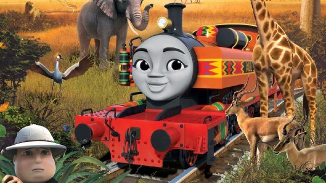 Nia, a train from Africa, is another new friend joining the Thomas & Friends team.