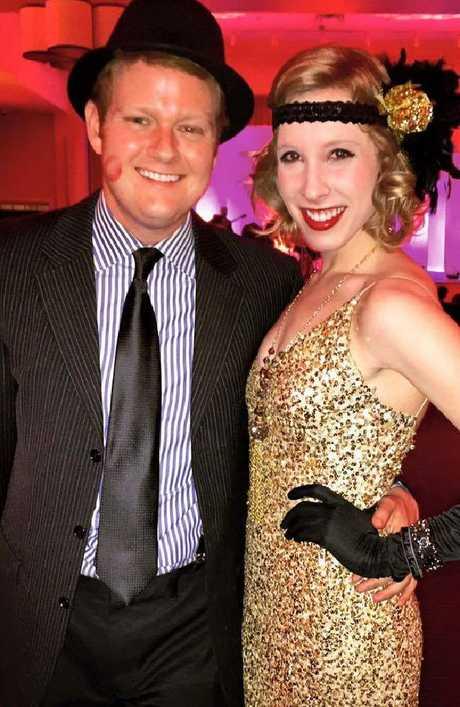 Alison Parker (L) and Chris Hurst. Picture: Facebook