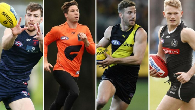 Will Jack Viney, Toby Greene, Kane Lambert and Adam Treloar be fit for the first week of finals?
