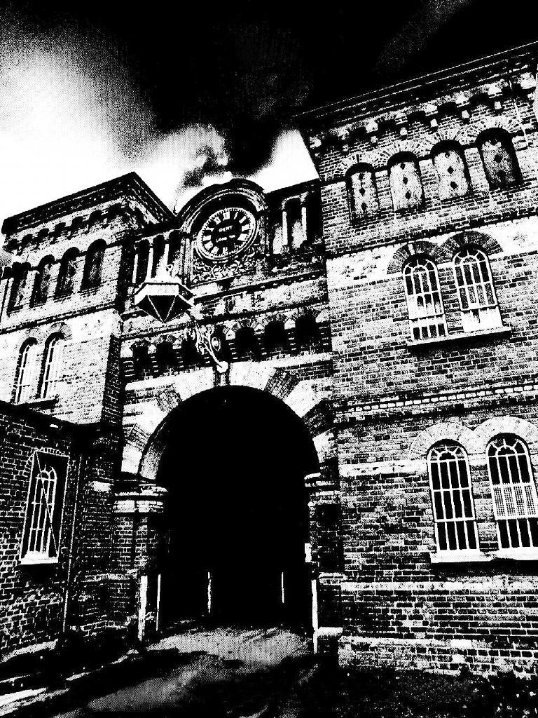 Broadmoor asylum, where Ley spent his final days