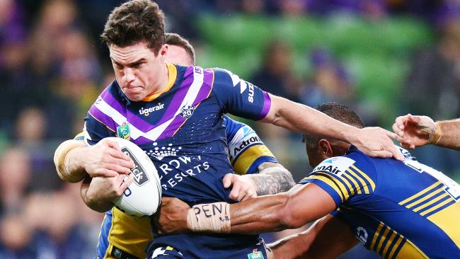 Brodie Croft is set to return in the No. 7 jersey for Melbourne Storm. Picture: Getty Images