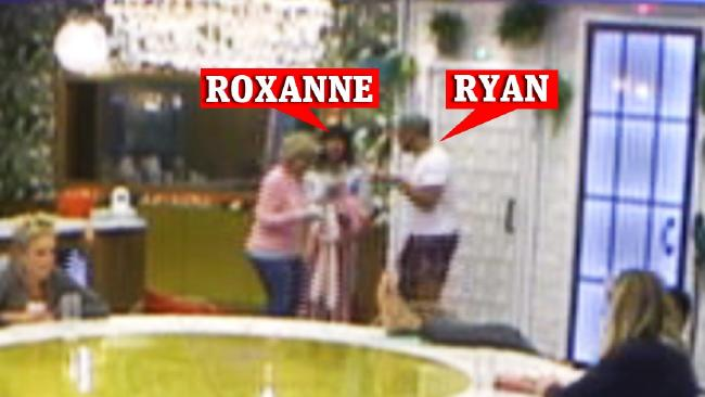 Celebrity Big Brother UK punching drama: Roxanne Pallett and Ryan Thomas. Picture: Channel 5