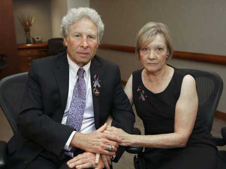 Andy and Barbara Parker. Picture: Stephanie Klein-Davis/AP.