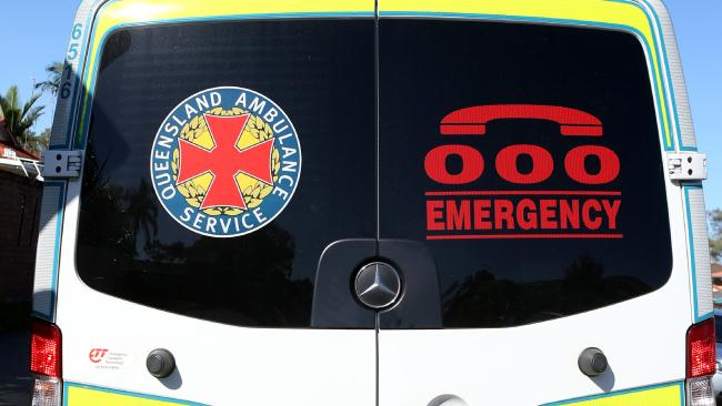 Queensland Ambulance Service transported a woman and two children to hospital following a dog attack at Gordonvale.