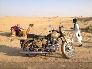 Two-wheeled adventure of a lifetime