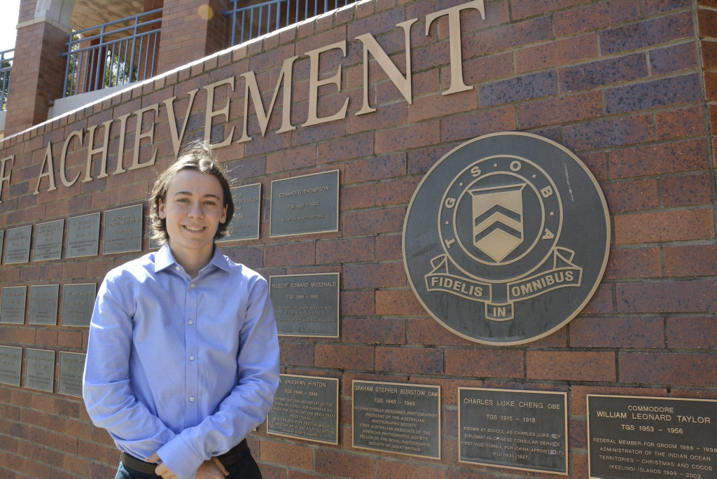 Former Toowoomba Grammar Student Austin Reed Has Been Accepted Into Buy Photos Online Warwick Daily News