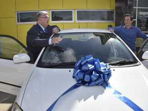Lifeline receives four-wheeled gift for those in need