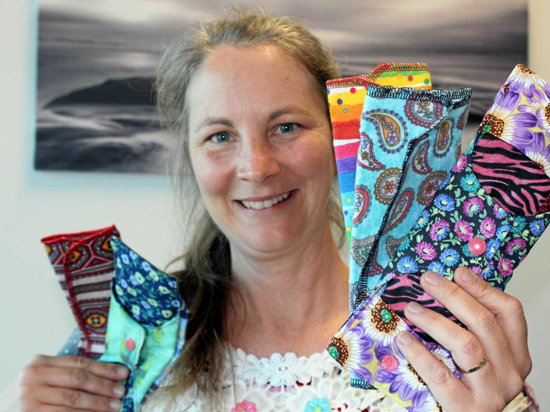 Leanne Purvis hopes take 200 feminine hygiene packs to women and girls in Cambodia in November.