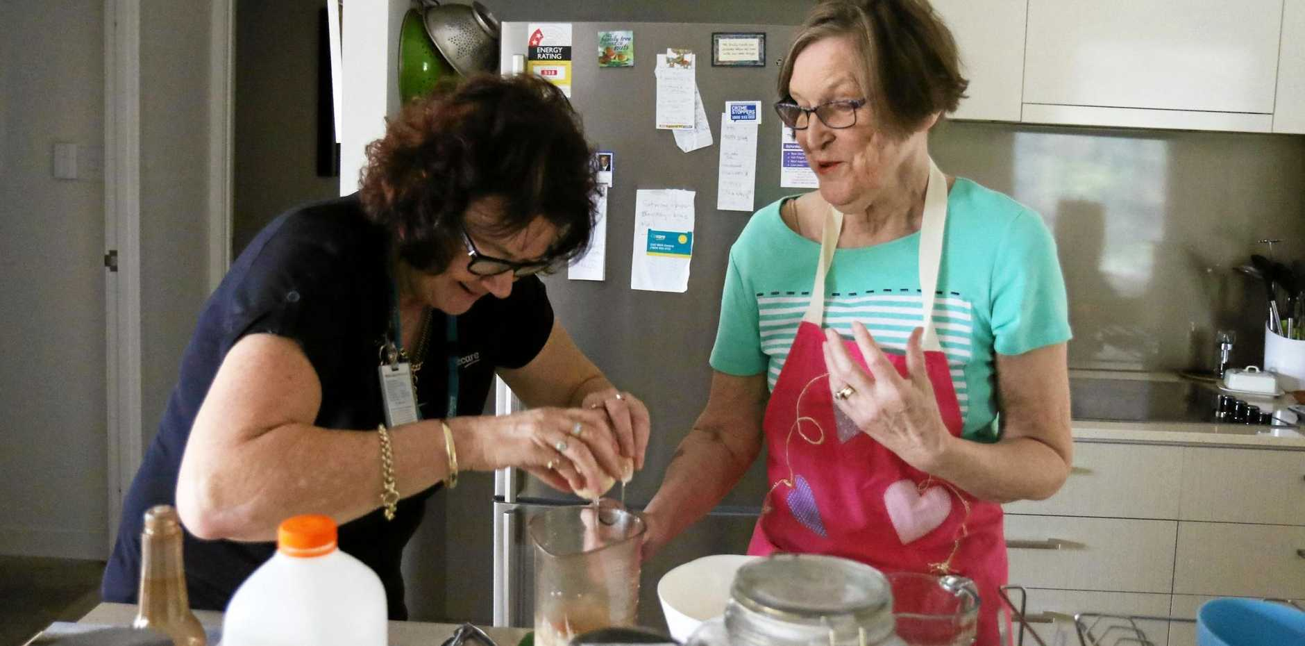 HELPING HAND: Ozcare's point of difference is its care team.