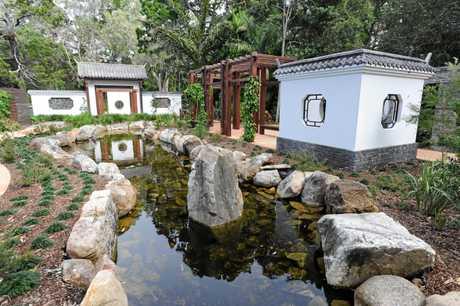 SHOW: Chinese gardens at Hervey Bay Botanic Gardens.