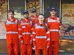 Youths learn SES ropes