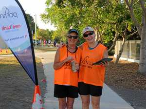 Dashing dads compete in Father's Day 5km run