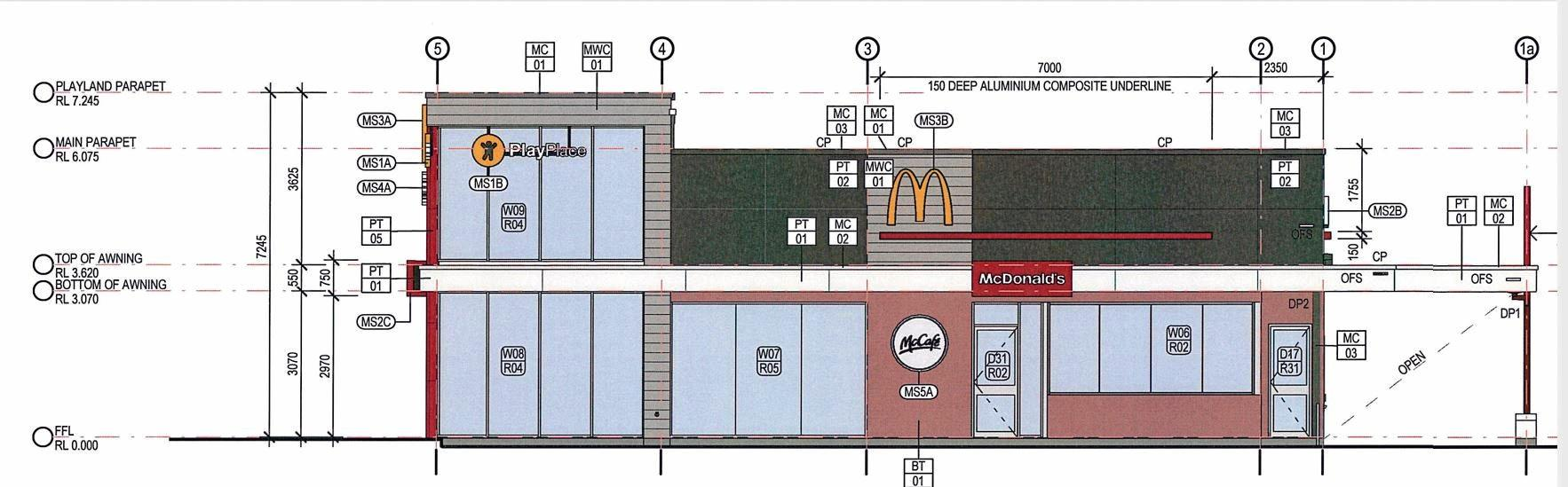 A 24-hour McDonald's is among the tenants to join a multi-use development on Sippy Downs Dr.