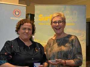 Williams and co rewarded for efforts in the surf life saving