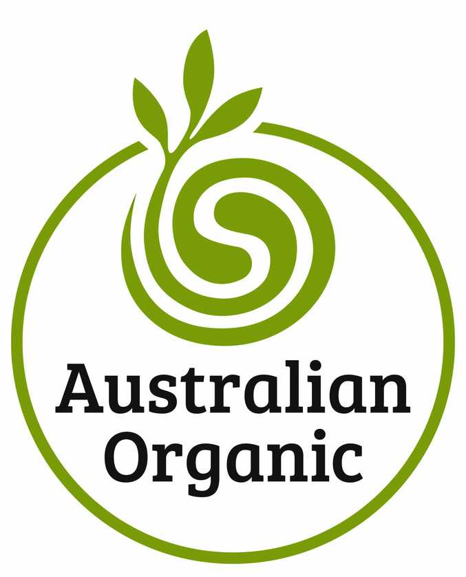 Look for the Australian certified organic logo on products in shops.