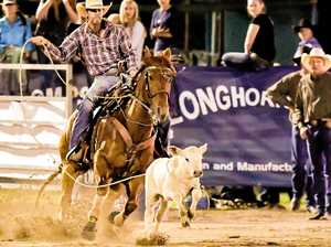 Pair have wins in roping events in Central Queensland