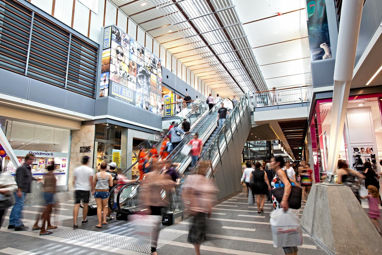 Caneland Central shopping centre.