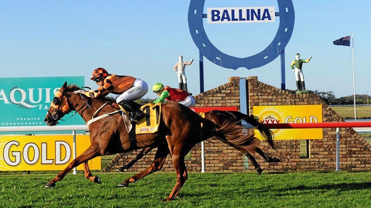 Heavy rainfall has forced the Ballina Cup, due to be held on Thursday, to be abandoned.