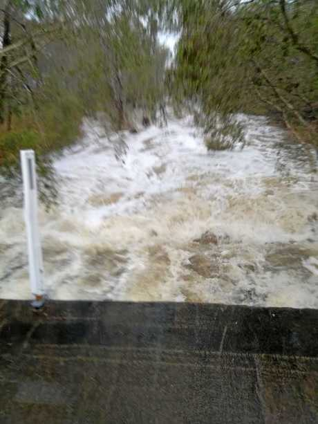 Jo Coleman posted this photo of Tin Case Creek at the southern entrance to Clairview, saying