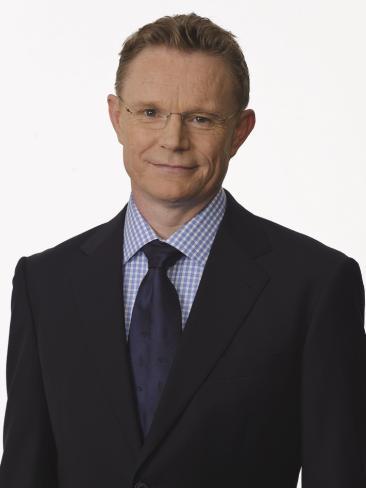 Newsreader Hugh Rimminton. Picture: Channel 10