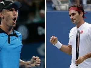 'Stadium in shock': Millman stuns Federer