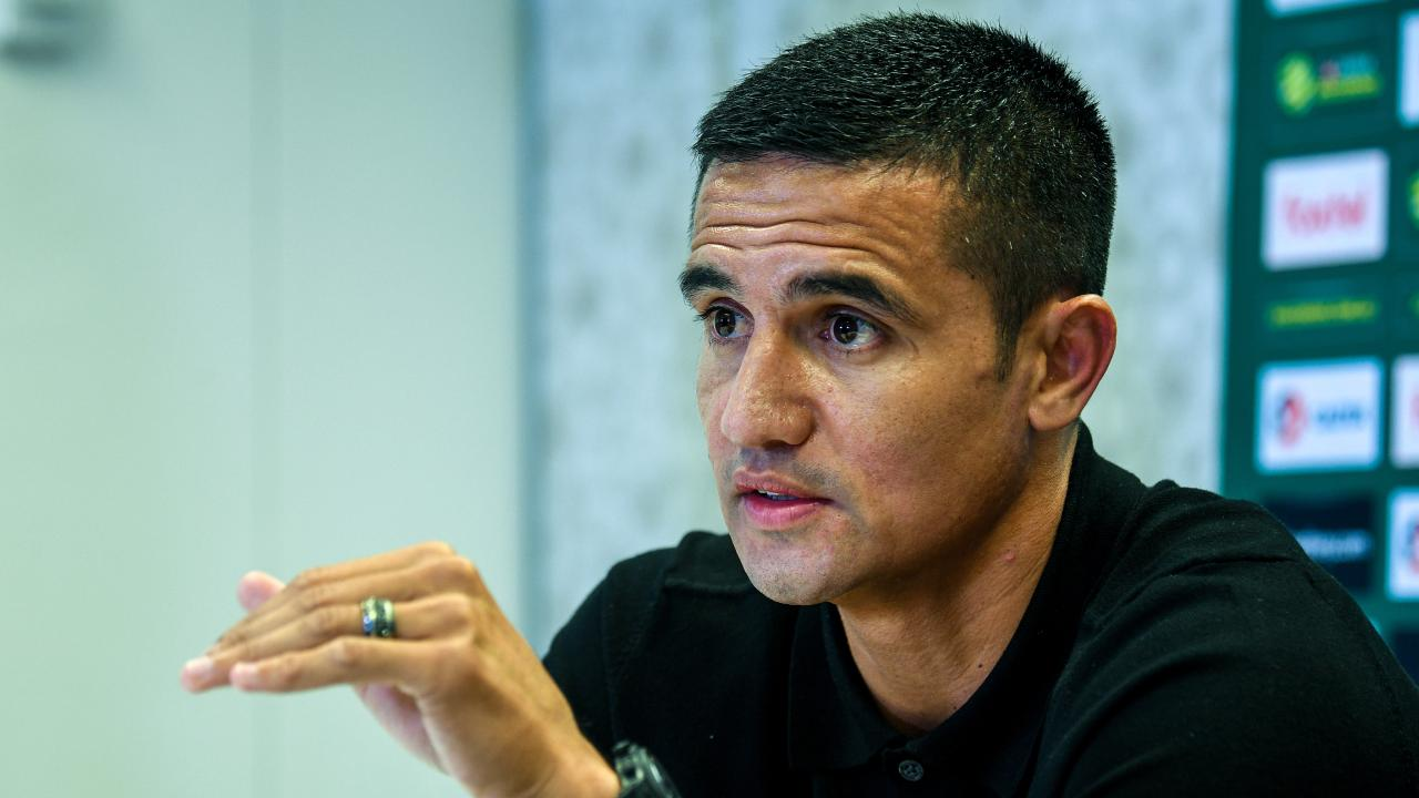 Tim Cahill will don the Socceroos jersey one last time against Lebanon on November 20.  Picture: Brendan Esposito