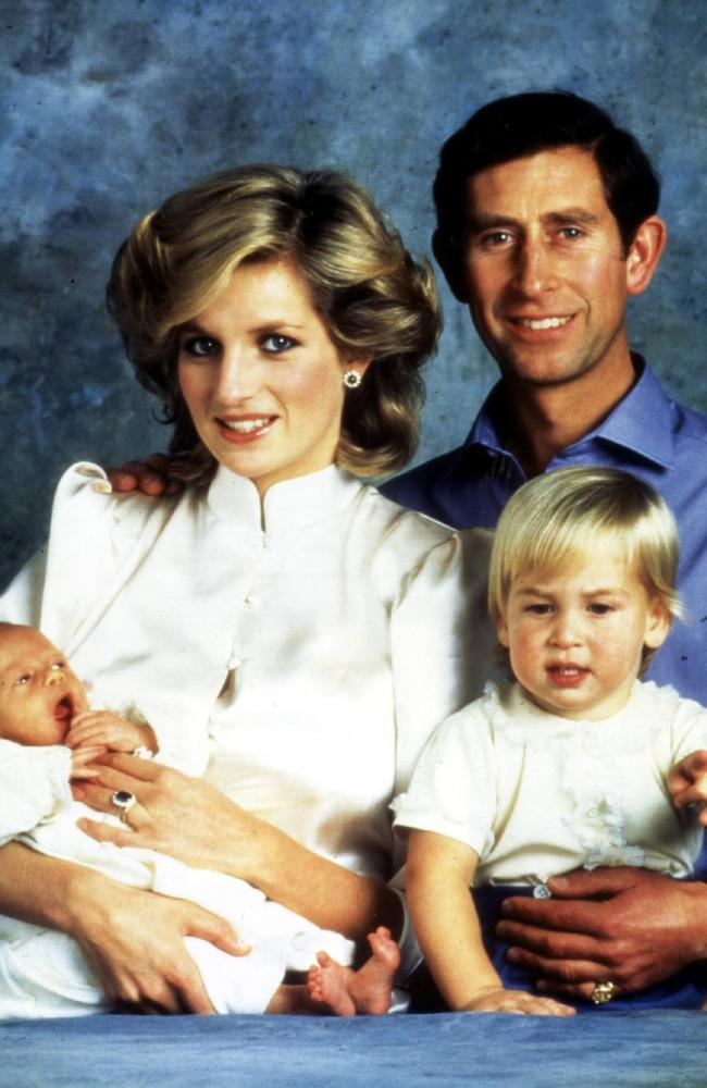 It was said that Charles spent little time with the boys growing up, and they were a lot closer to their mother.