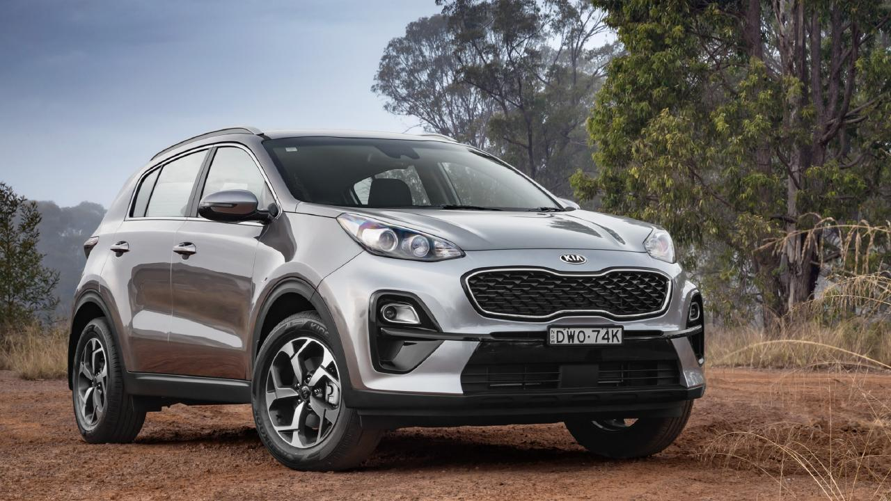 Family discount: The Kia Sportage can be had with drive-away deals.