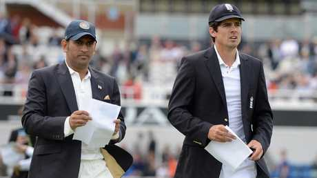 Alastair Cook is the only Test captain to ever beat MS Dhoni's India in a Test series in India.