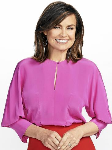 """One spokesman said voice coaching was """"industry standard"""". The Project host Lisa Wilkinson. Picture: Channel 10"""