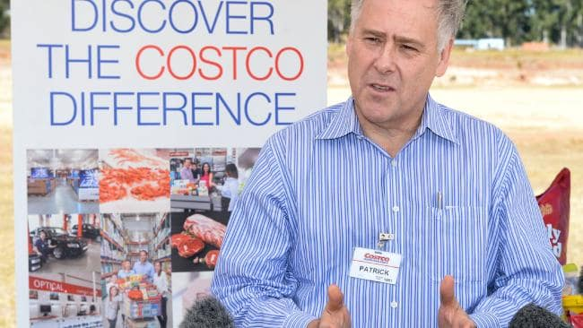 Costco Australia managing director Patrick Noone.