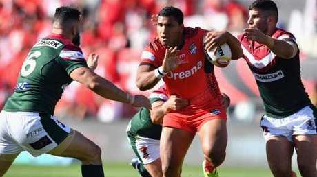 Having chosen Tonga already, would his switch? (Kai Schwoerer/Getty Images)