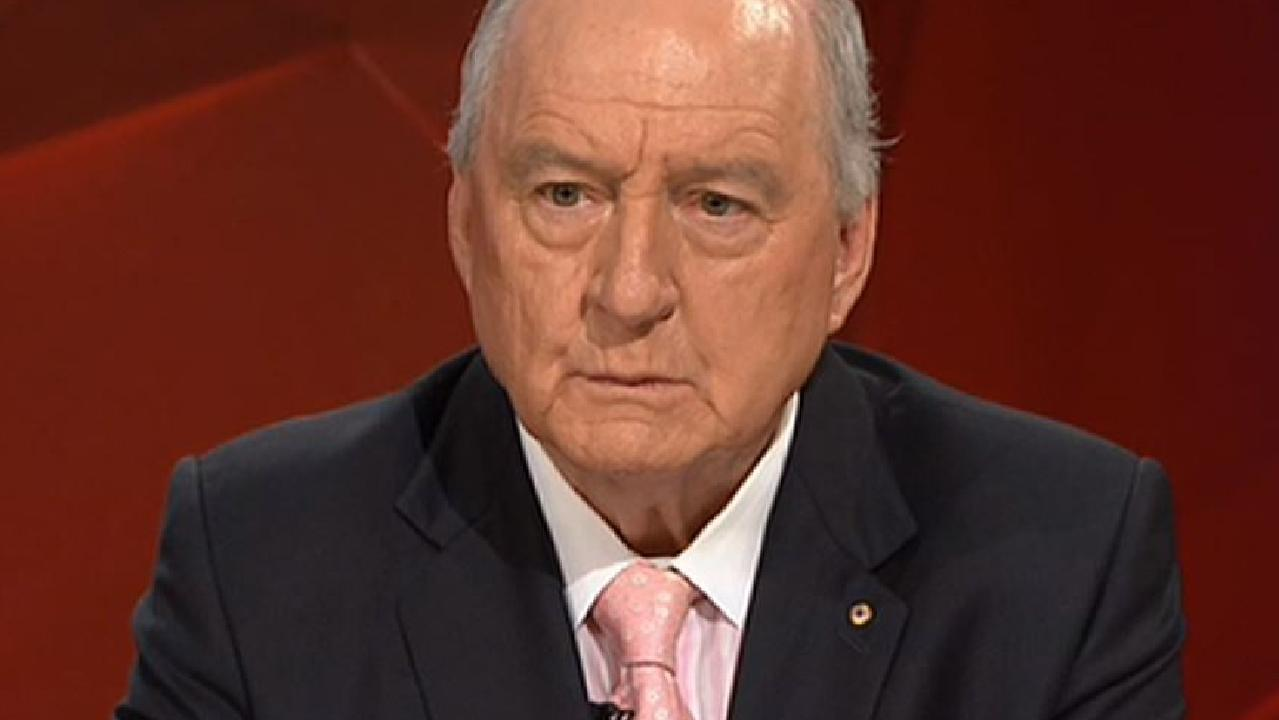 'Take a teaspoon of cement and toughen up,' advised Alan Jones to female MPs who have said they have been bullied.