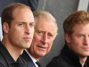 Right royal rift: Charles, sons 'don't get on'