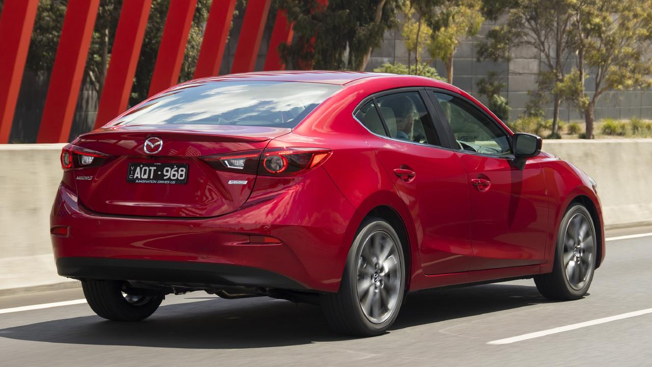 Sharp ride: The Mazda3 SP25 Astina has very responsive steering.