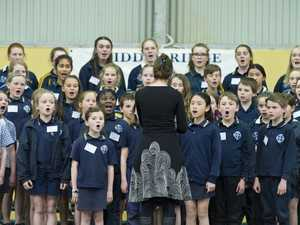 Massed choir a musical treat