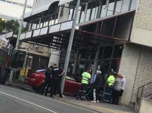 Car crashes into Ipswich shop