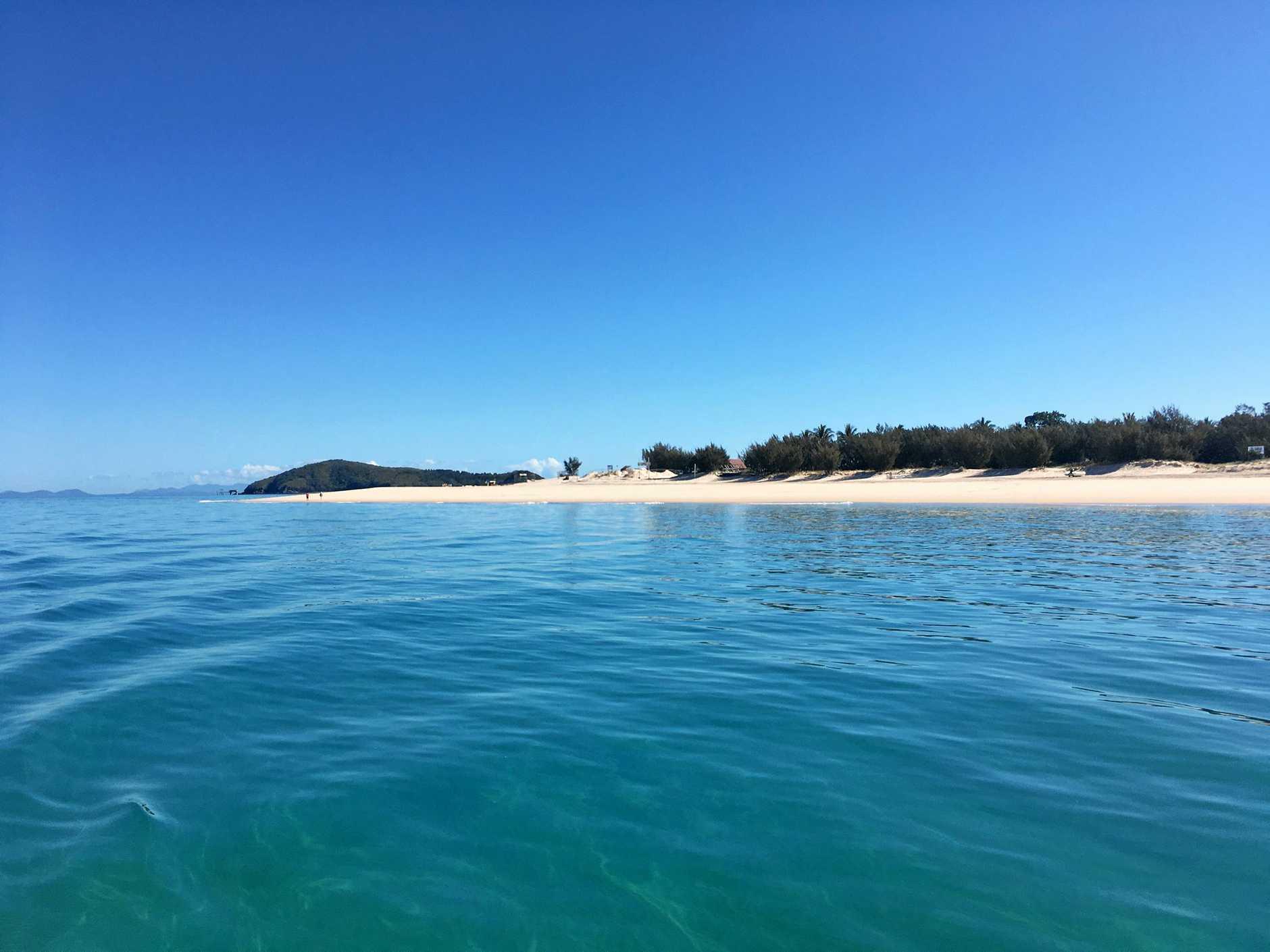Great Keppel Island looking towards Fisherman's Beach.