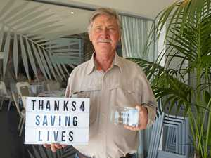 Milestone donor's 48 years of giving blood