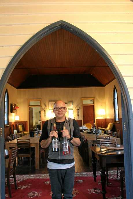 Glen Robert from Bent Road Wines found a church on Gumtree.