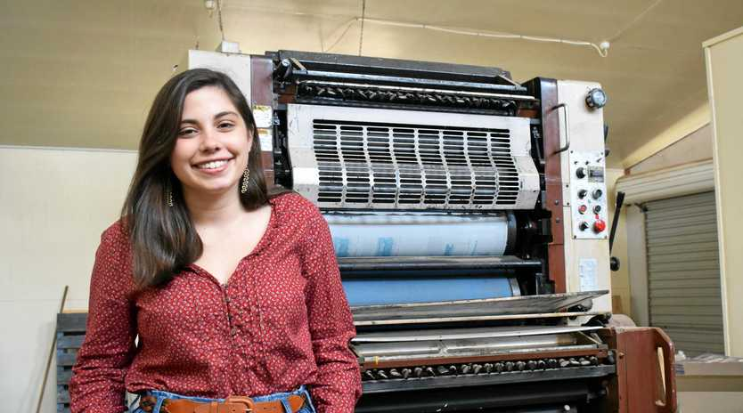 NEW JOURNO: Amani Vassiliou joins the paper team.