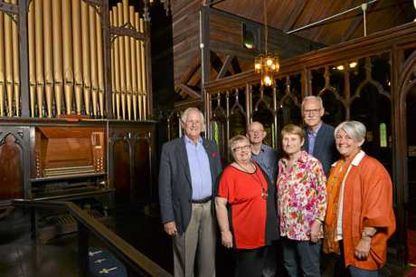 Organ Restoration Appeal committee at St Thomas Anglican Church.
