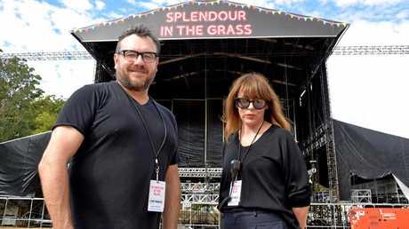 Paul Piticco and Jessica Ducrou.