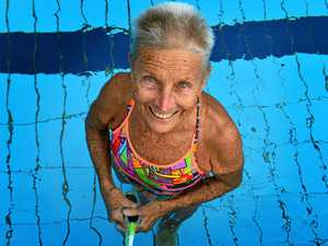 Noosa legend breaks swimming record 57 years after her first