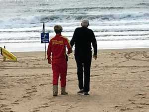 Maroochydore lifeguard's touching act of kindness