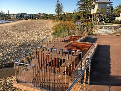 A new viewing deck at Alexandra Headland is the latest of improvements made to the popular beach spot over recent years.