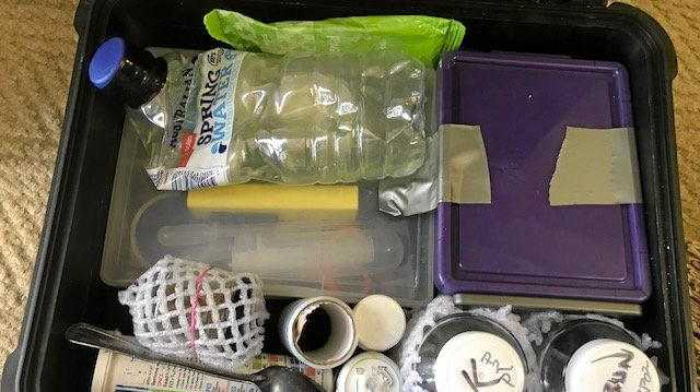 Two men will face the Warwick Magistrate after police found a drug lab in Myrtle Ave.